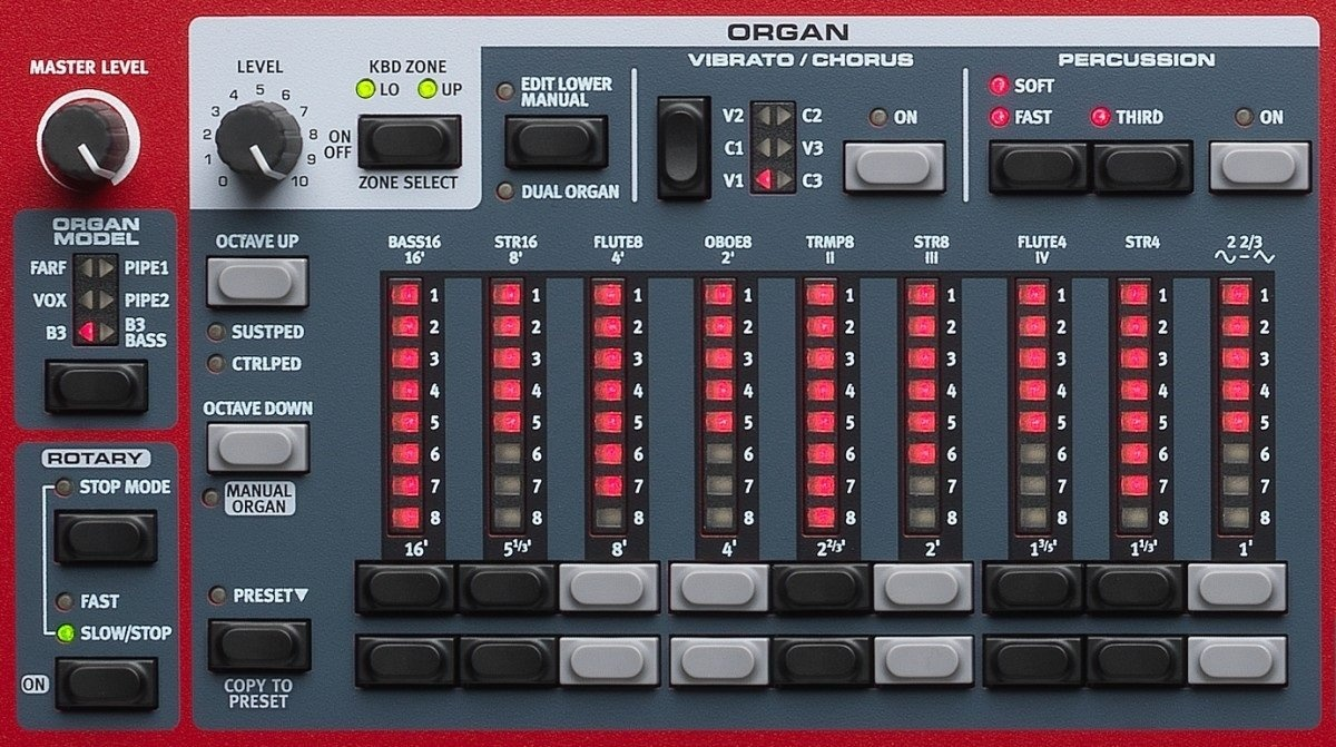 What are some electronic keyboards similar to the Nord