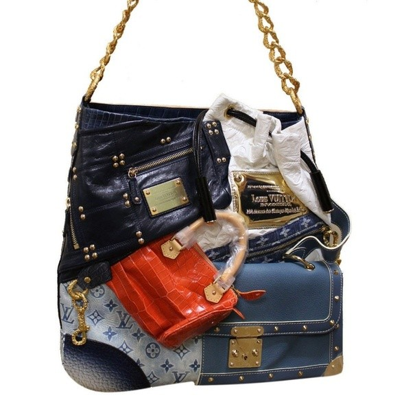 Breaking From The Usual Trend And Mold Blazing Its Own Path Lv Tribute Patchwork Bag Flaunts A Radical Look That Is Rare Among High End Designer