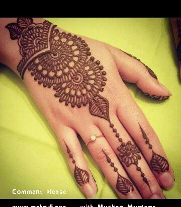 What are Henna/Mehndi designs for beginners? - Quora
