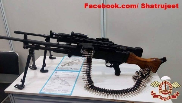 Why cant india produce s world class assault rifles quora ofb drdo 76251 lmg recently armys tender for 44000 lmg was cancelled due to which drdo was asked to present this lmg to the army for trials altavistaventures Images