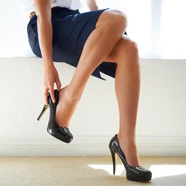 Gli uomini preferiscono quando le donne indossano i tacchi