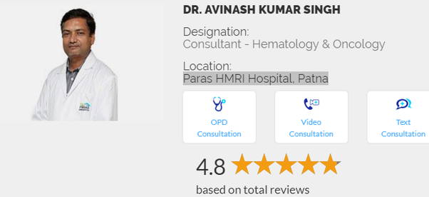 Who is the best oncologist or cancer specialist in Patna