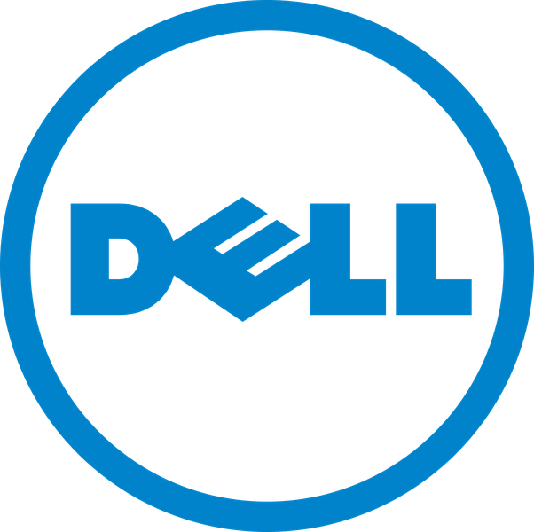 What Does The Slanted E In Dell Represent Why Is It Written So