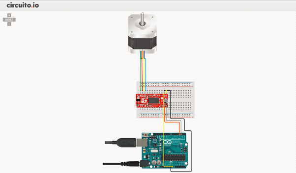 In the app you can select from different types of motors and Arduino modules, among other components, and you will also find test code snippets for the ...