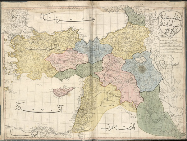 What Were The Borders Of The Middle East Before And After Sykes