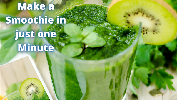 Drink More Smoothies To Lose Weight.