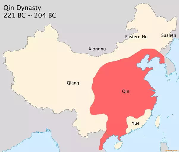 How did china become enormous quora qin only lasted for less than 20 years due to harsh rules after a short civil war han dynasty was established han was weak at the very beginning and was gumiabroncs Choice Image
