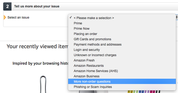 Why Is There No Damn Way To Contact Amazoncom With A General