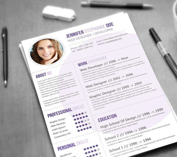 2 the notepad resume - Best Resume Ever