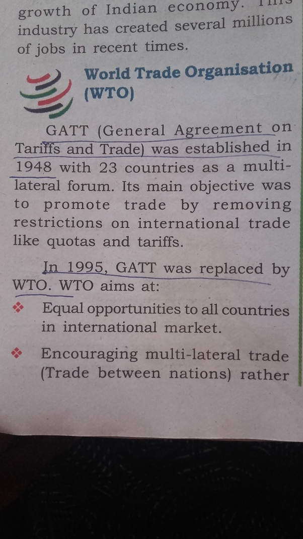What Is Gatt Quora
