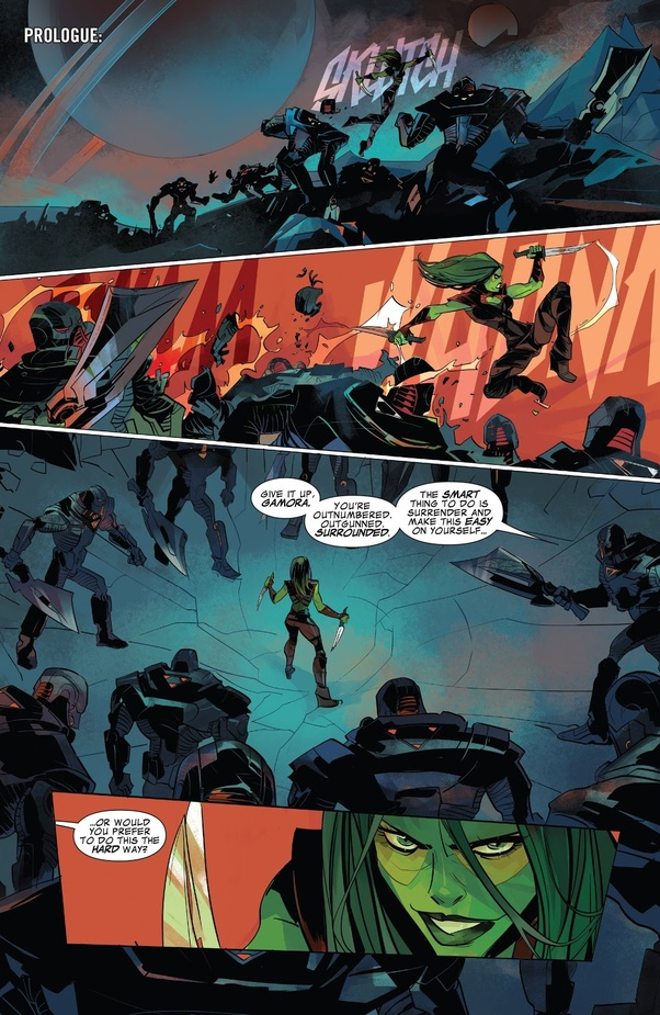 Why is Gamora nicknamed the deadliest woman in the Galaxy
