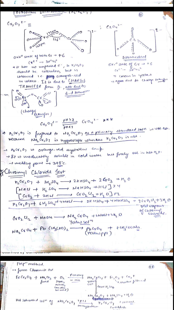 Can I get notes for inorganic chemistry for IIT JEE? - Quora