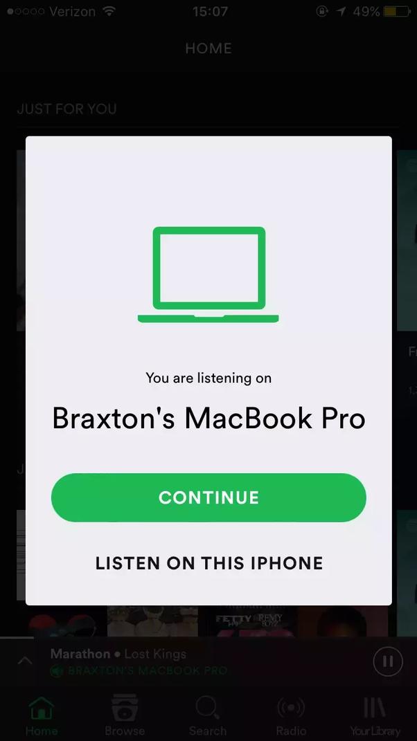 Can Spotify Premium be used on multiple devices? If so, up