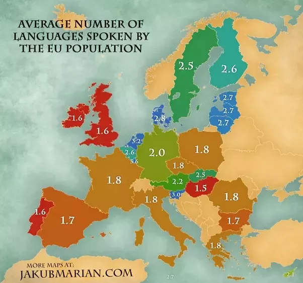 How Many Languages Does The Average Person Speak Quora - How many languages on earth