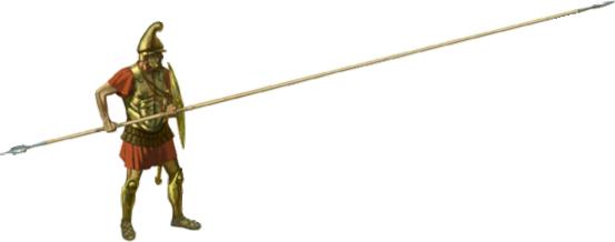 Greek Spears Weapon