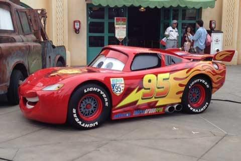 cars movie series what would a real life lightning mcqueen look