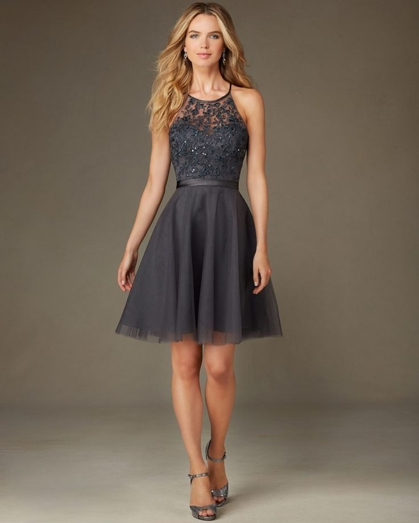 What Colour Shoes Should I Wear With A Dark Grey Formal Dress Quora