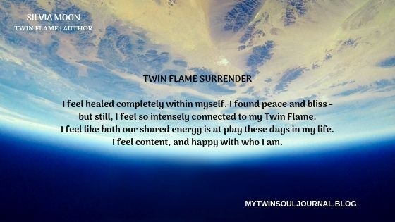 How and what is the surrender stage in the Twin Flame