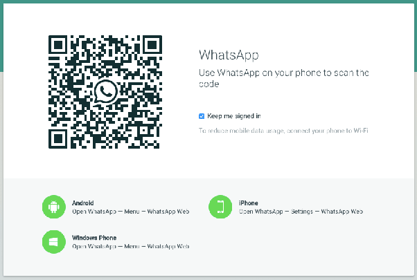 How to get the WhatsApp QR code on my Android phone - Quora
