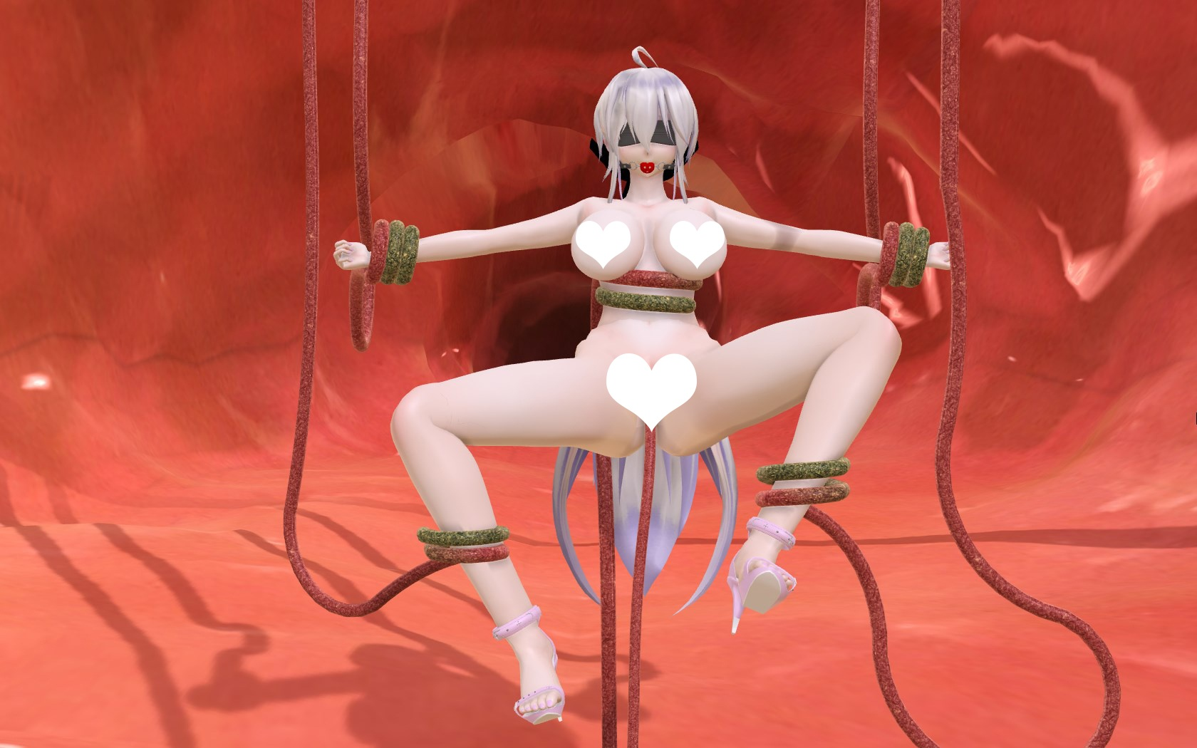 3D Character Porn will augmented reality (ar) porn be more realistic than