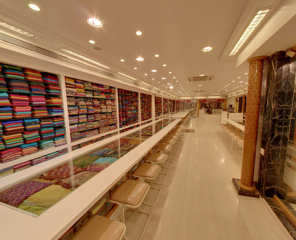 What Are The Best Shopping Places In Bengaluru For Silk