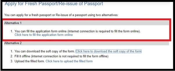 How to Apply for fresh Indian Passport Online. 8