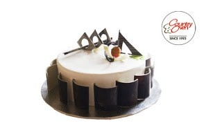Order Cakes Online Chocolate With Finesse SKU COCAK604 This Cake Brings Sophistication On The Plate Made Different Types Of And Decorated