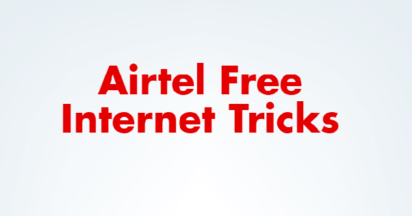 How to get Internet data free from Airtel - Quora