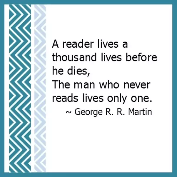 And Lastly, The Best Quote, I Have Read On Books U0026 Reading.