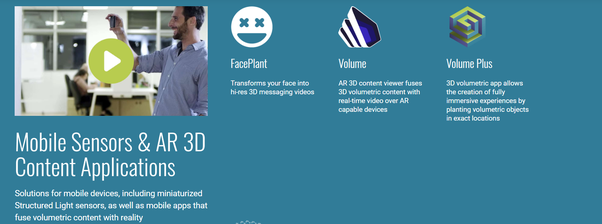 Who manufactures 3D Depth Sensing Cameras? - Quora