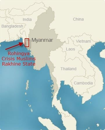 Where Is Myanmar Burma Quora - Where is myanmar