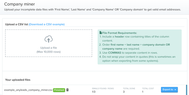 how to get email addresses of company s in the world for email