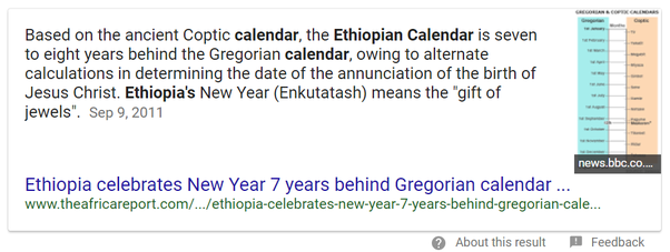 Why Is The Ethiopian Calendar Different Quora