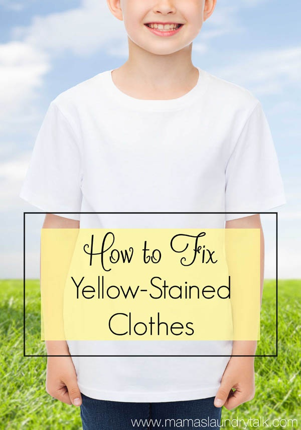 What Is The Most Effective Way To Remove Yellow Food Coloring Stains