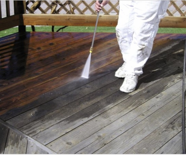 What Would Be The Best Way To Strip Old Paint From A Deck And