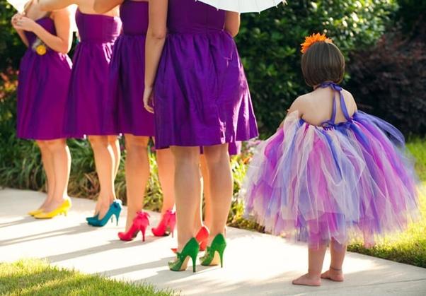 Shoes Should I Wear With A Purple Dress
