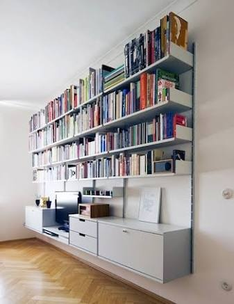 view photos here shelf store - Wall Sized Bookshelves