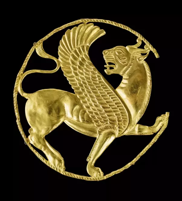 What Is The Significance Of The Winged Lion As A Motif In Persian