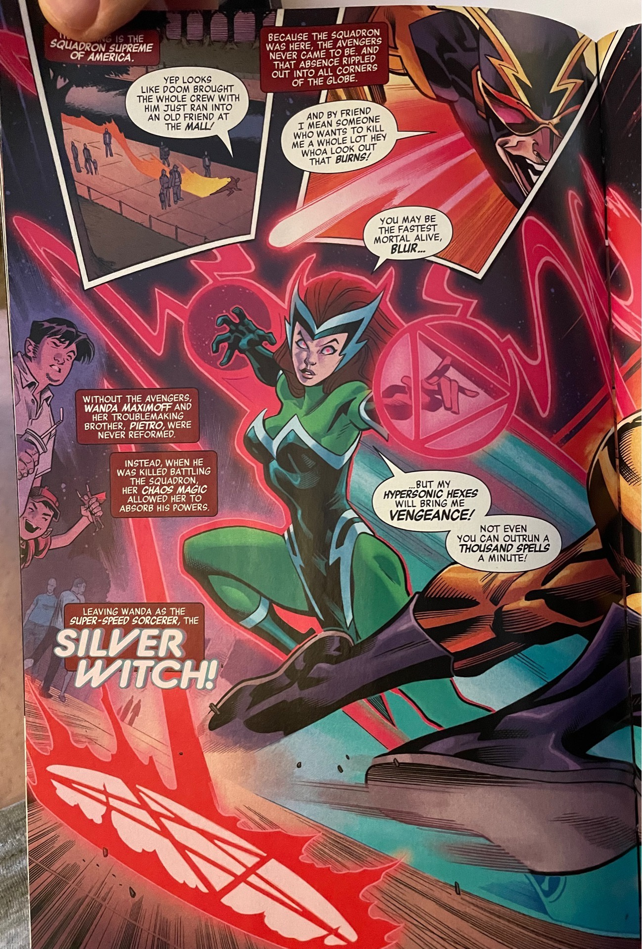 Who is the silver witch in Marvel Comics   Quora