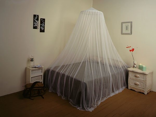 A Mosquito Bed Net/canopy Might Help You.