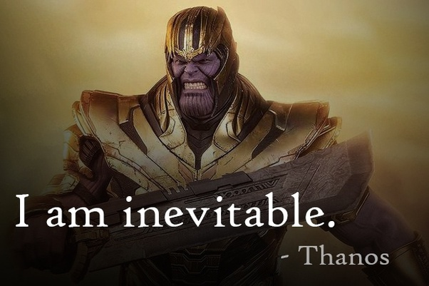 "What was Thanos' best line in Avengers: Endgame (e.g., ""I ..."