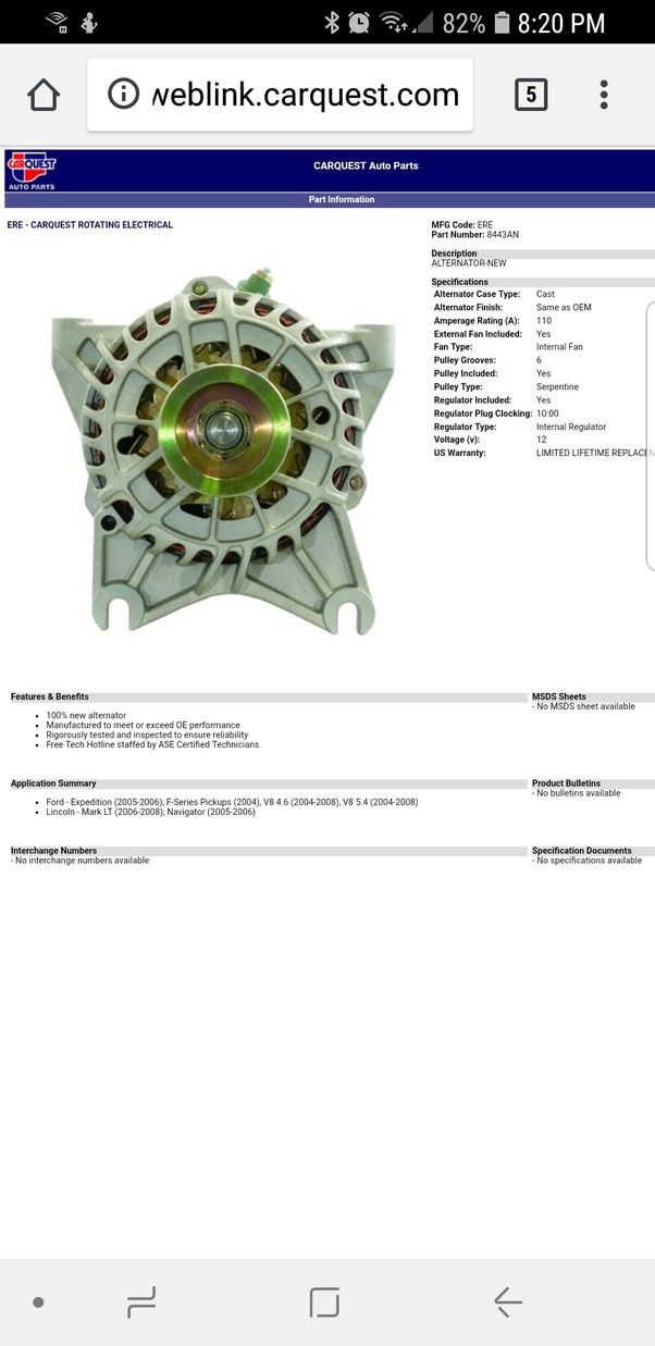 Will an alternator from an Ford F150 5.4 Triton work on a ... Ford Triton Engine Diagram on ford 5 4 problems, ford flathead v8 engine, 2001 ford f-250 5.4 engine diagram, ford 5.4 timing chain diagram, ford f-150, ford expedition 5.4 engine diagram, 5.4 motor diagram, 4.6 liter engine diagram, ford v10 engine reliability, ford triton v8 cylinder diagram, ford 5.4 lifter diagram, ford duratec engine, ford y-block engine, 4.6l v8 engine diagram, ford 5.4 liter engine diagram, ford 5.7 liter v8 triton, ford f-250 black ops tuscany, 5.4 triton engine cylinder diagram, 5.4l triton diagram, ford 6.4 diesel engine,