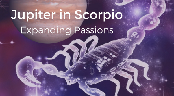 What can be expected of Jupiter's transit into Scorpio in October