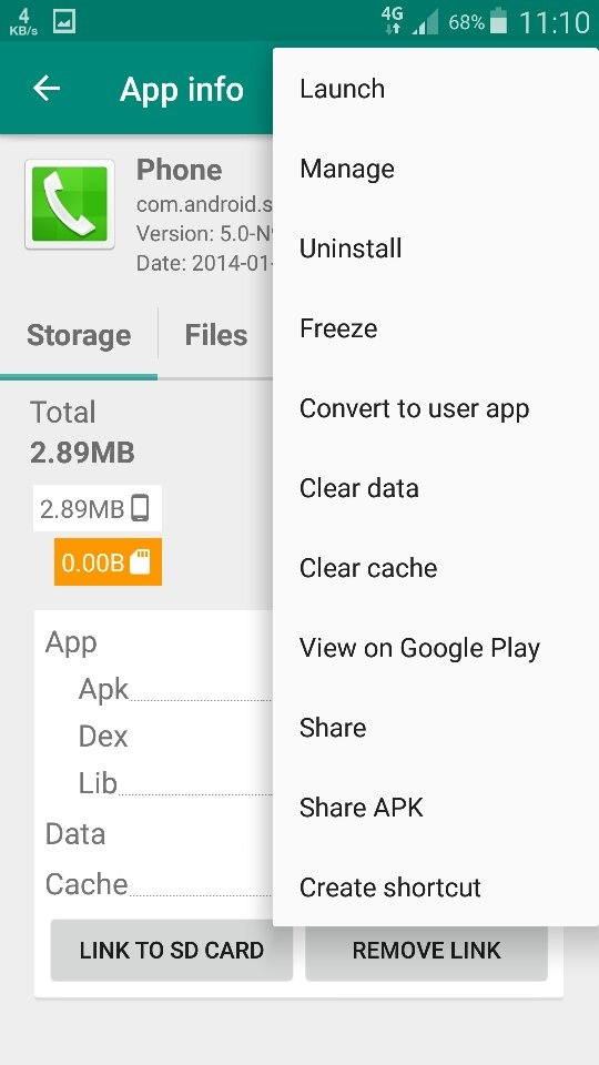 How to remove pre-installed apps from Android completely, so