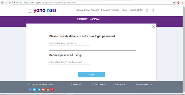 I forgot my SBI net banking password and I don't currently own the phone  number associated with it, what can I do to resolve this issue? - Quora