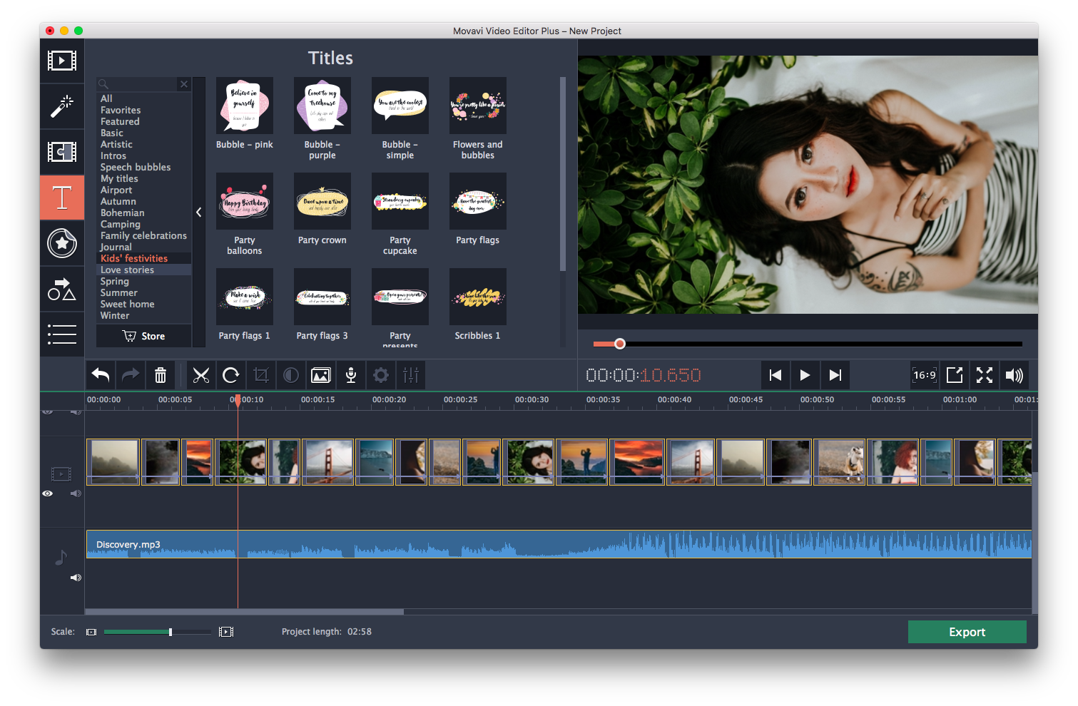 What is the best video editing software for the DJI Mavic