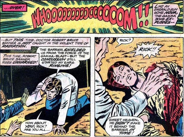 Professor Kerwin Kronus Proposed A Particularly Novel Approach To Curing The Hulk He Suggested That Bruce Banner Travel Through Time