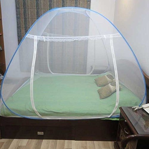 Healthgenie Mosquito Net Double Bed Foldable With Patch