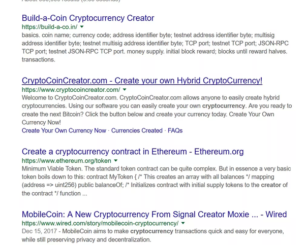 create cryptocurrency without coding
