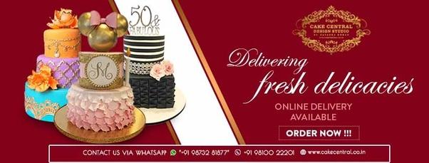 I Am Natasha Mohan The Fonder Of Delhis Exclusive Designer Cakes Boutique Called Cake Central Design Studio We Make Beautiful In All